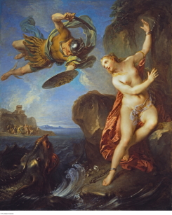 Perseus and Andromeda by François Lemoyne, one of the art works selected to inspire students in the Young Choreographer project project